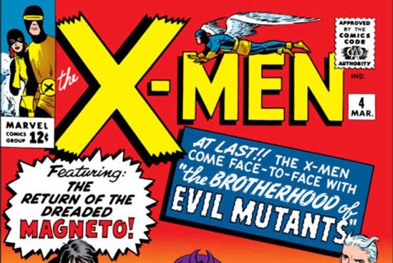 X-Men #4 masthead