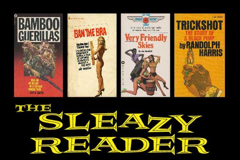 The Sleazy Reader masthead