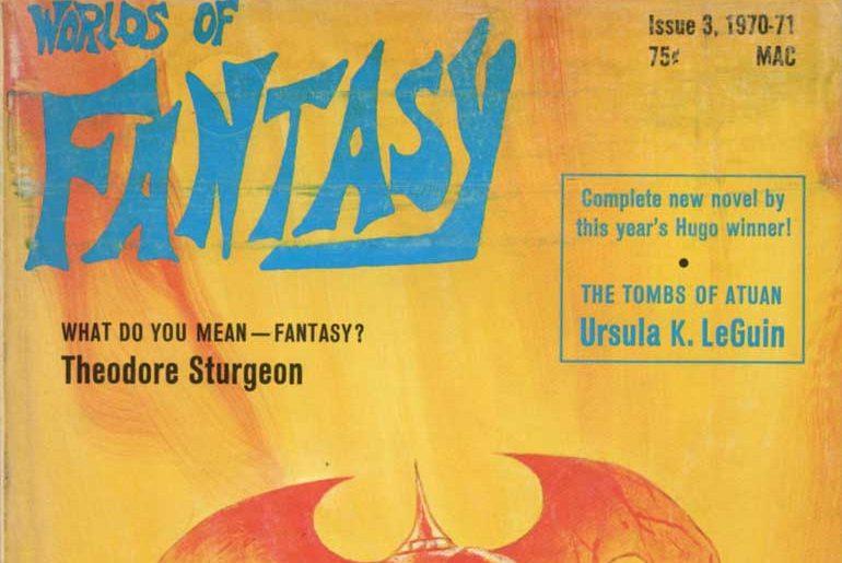 Worlds of Fantasy #3 masthead