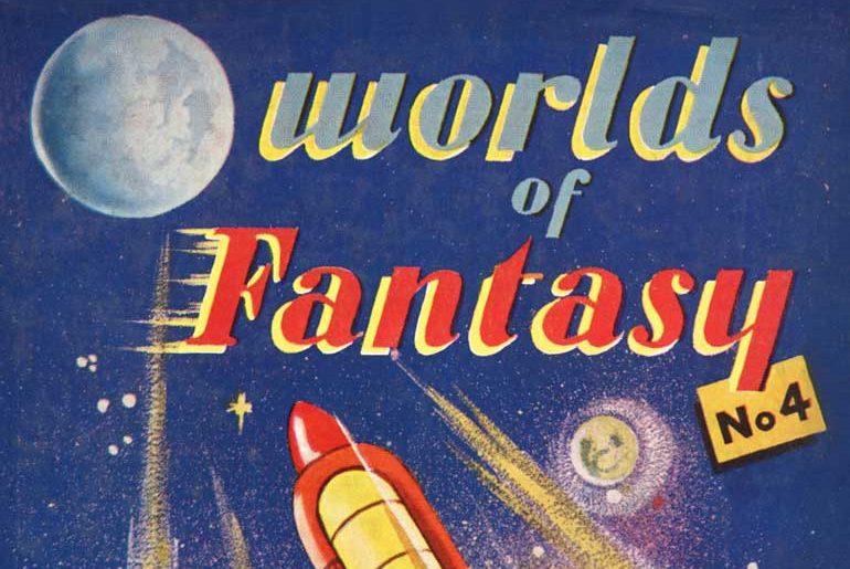 Worlds of Fantasy masthead