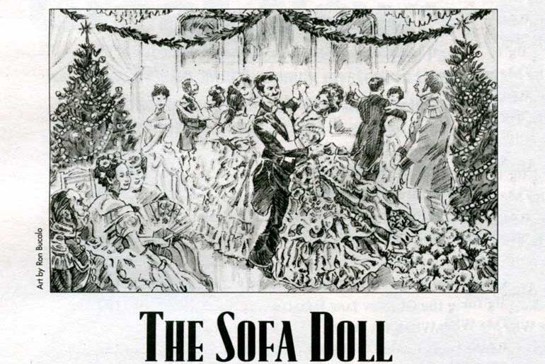 "Ron Bucalo's illo for ""The Sofa Doll"""