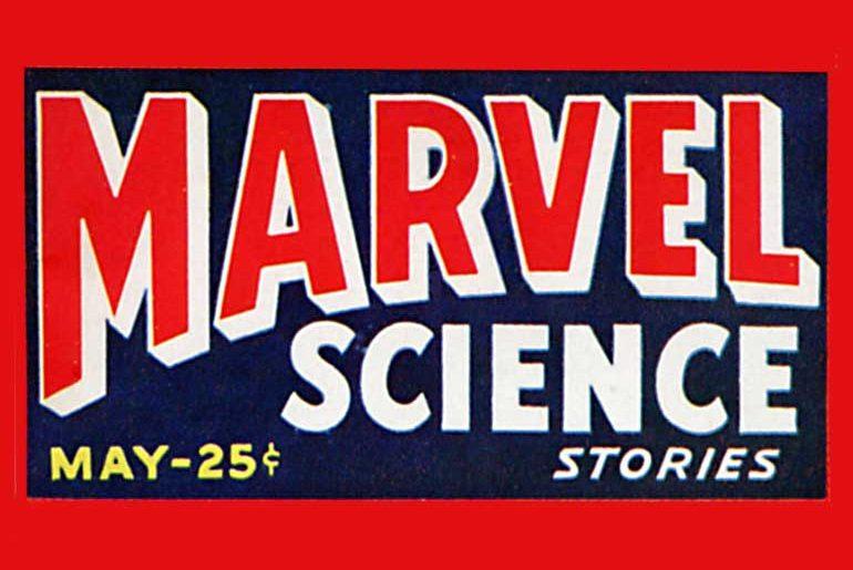 Marvel Science Stories masthead