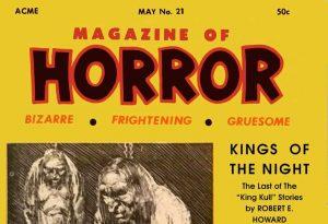 Magazine of Horror #21 masterhead
