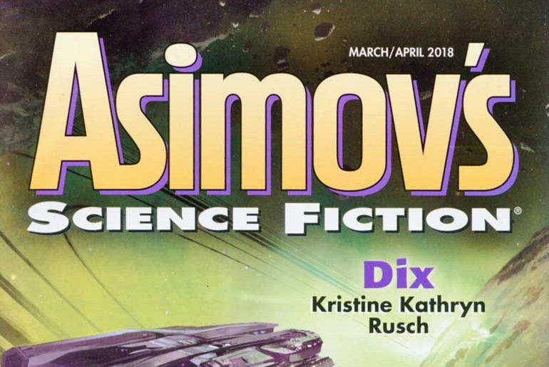 Asimov's Mar/Apr 2018 masthead