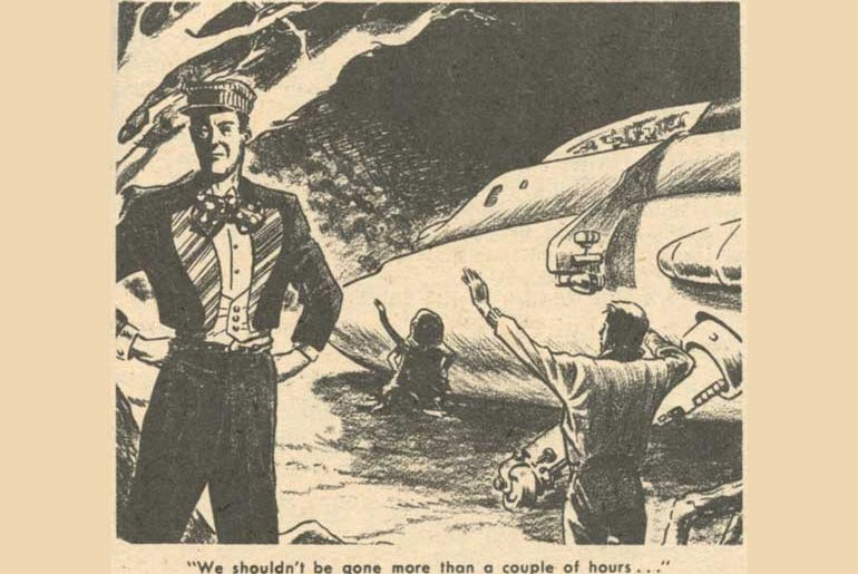 Illo from Marvel Science Stories May 1951