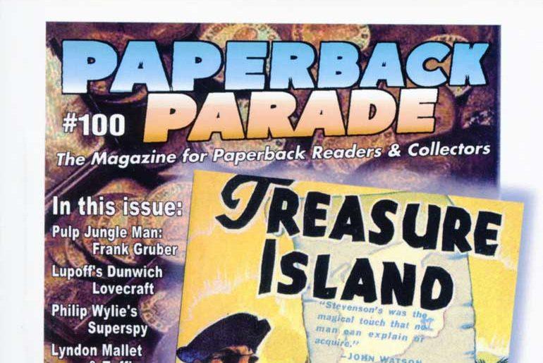 Paperback Parade #100 masthead