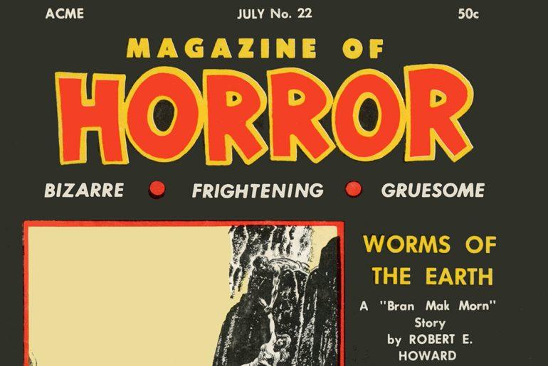 Magazine of Horror #22 masthead