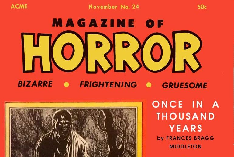 Magazine of Horror #24 masthead