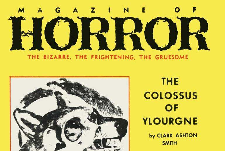 Magazine of Horror #25 masthead