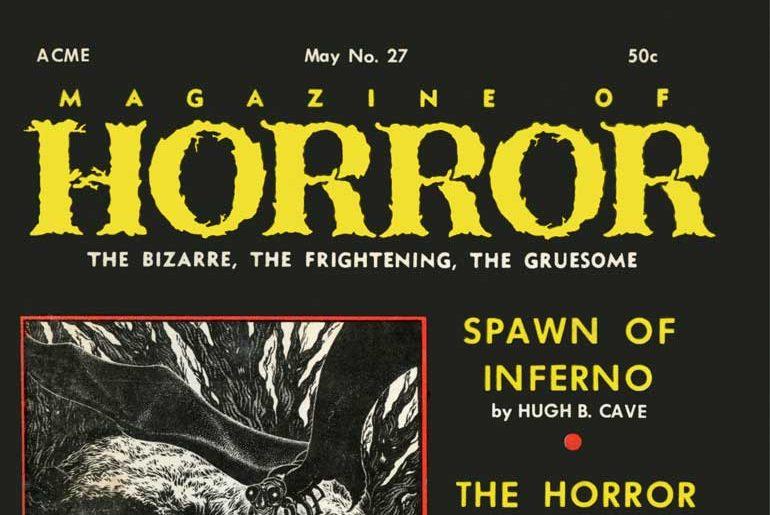 Magazine of Horror #27 May 1969 masthead