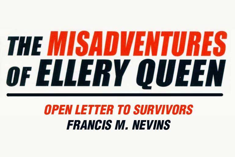 Francis M. Nevins' Open Letter to Survivors