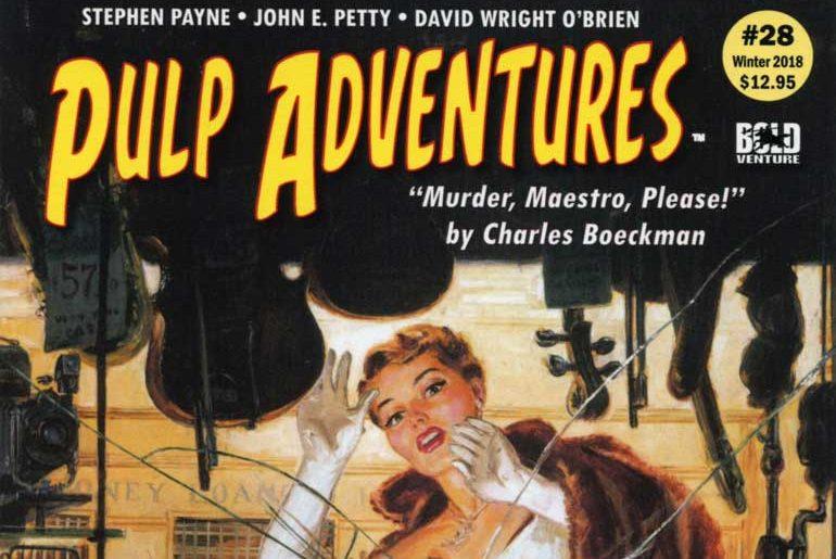 Pulp Adventures #28 masthead