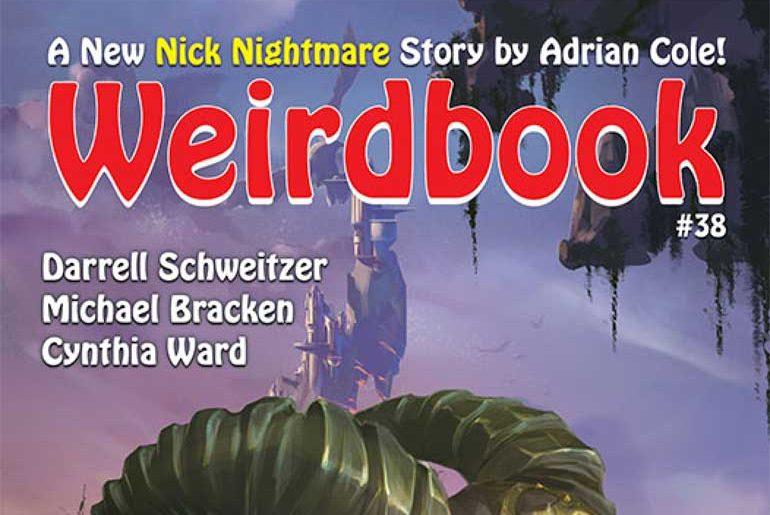 Weirdbook #38 masthead