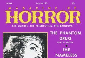 Magazine of Horror #28 masthead