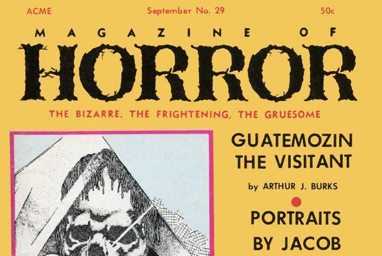 Magazine of Horror #29 masthead