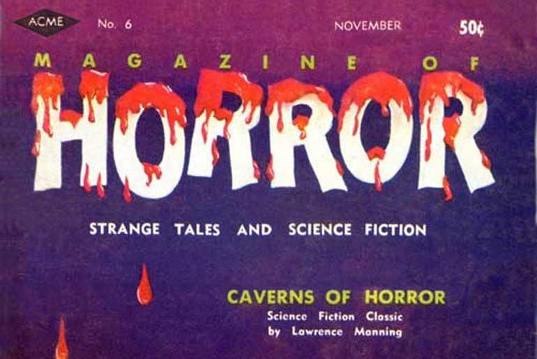Magazine of Horror #6 masthead