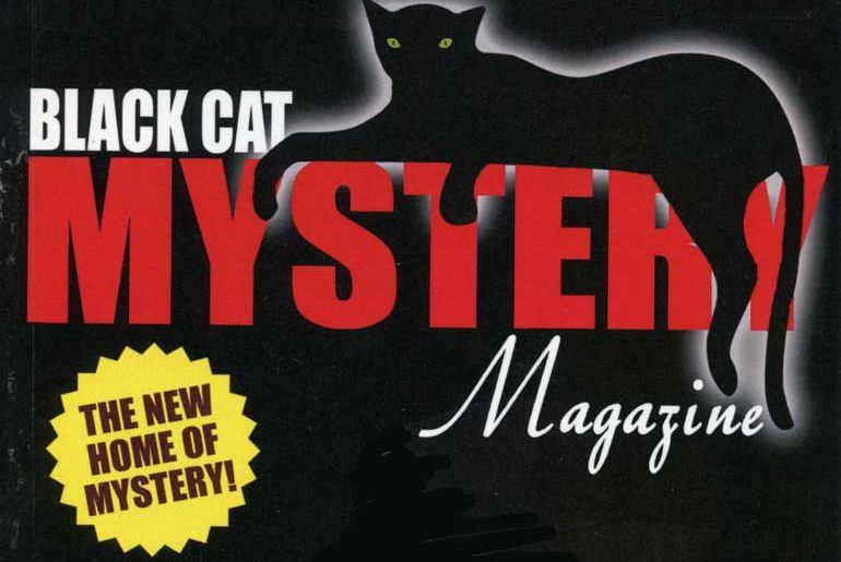 Black Cat Mystery Magazine masthead