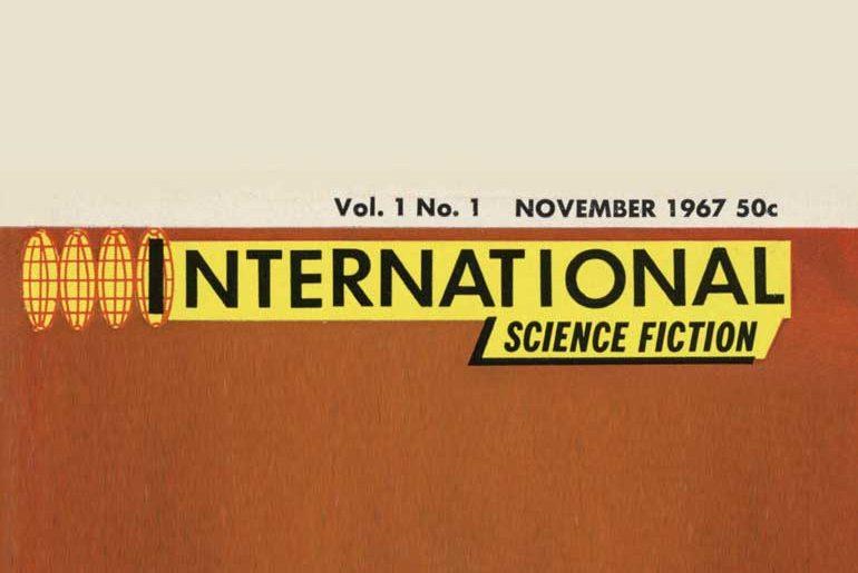 International Science Fiction #1 masthead