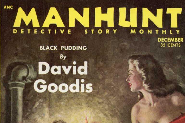 Manhunt Dec. 1953 masthead