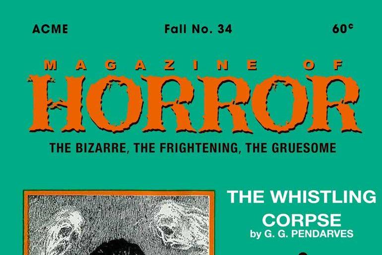 Magazine of Horror #34 masthead
