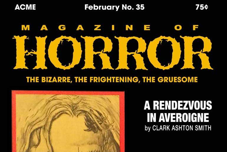 Magazine of Horror #35 masthead