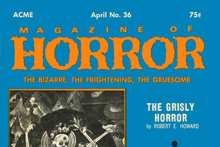 Magazine of Horror #36 masthead