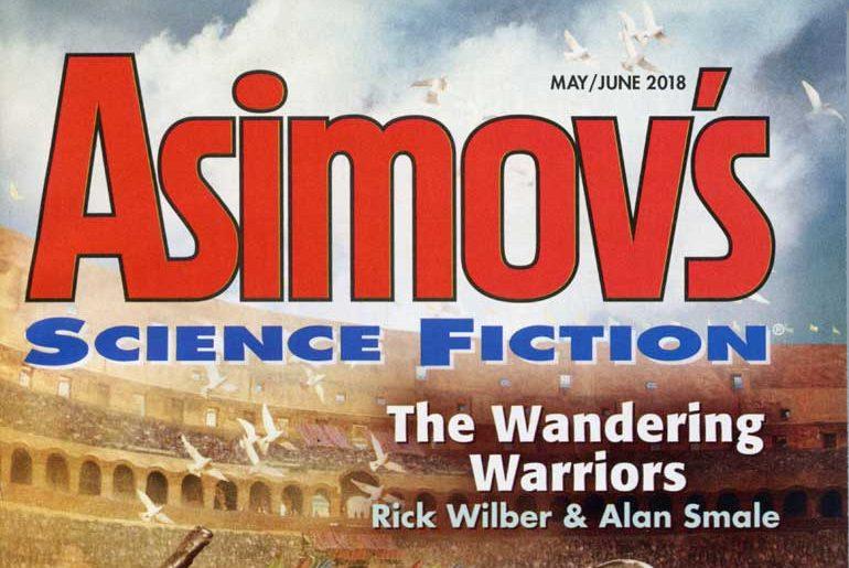 Asimov's May/Jun 2018 masthead