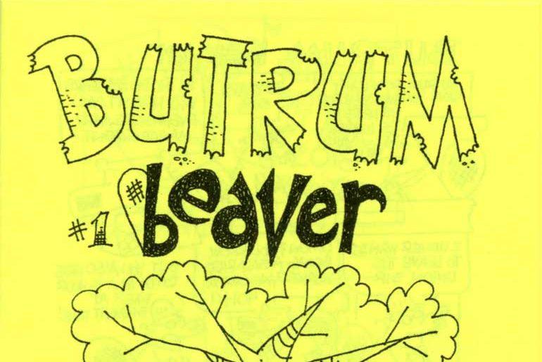 Butrum Beaver No. 1 masthead