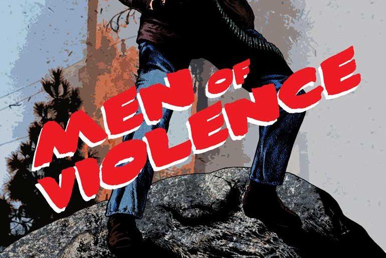 Men of Violence No. 10 masthead