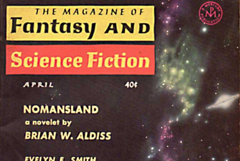 F&SF April 1961 masthead