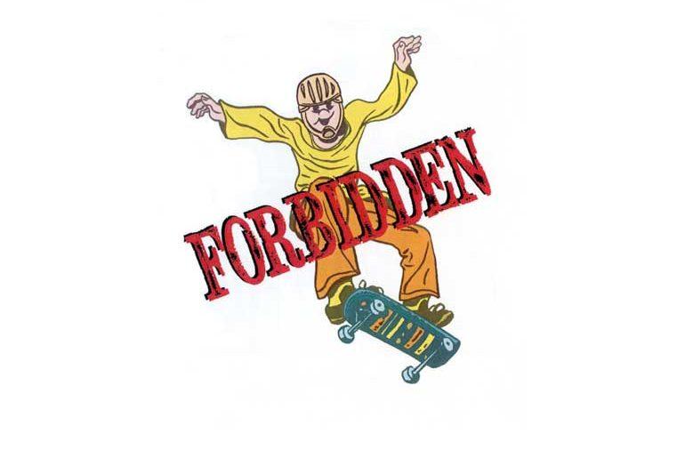 Forbidden masthead