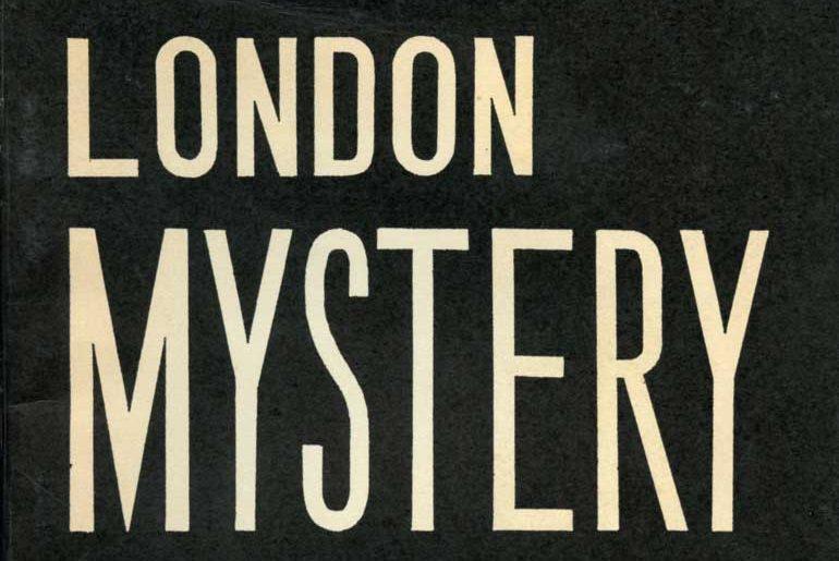 London Mystery masthead