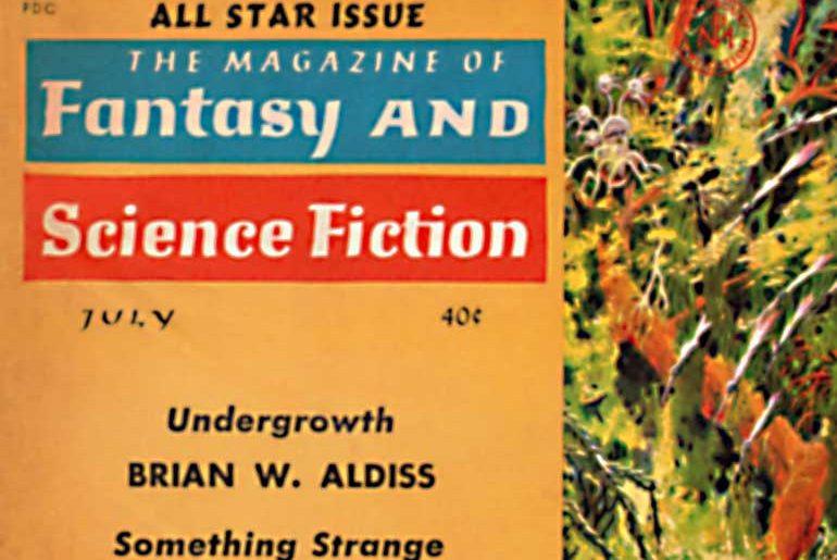 F&SF July 1961 masthead