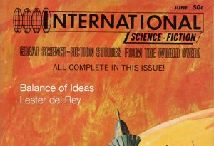 International Science Fiction No. 2 masthead