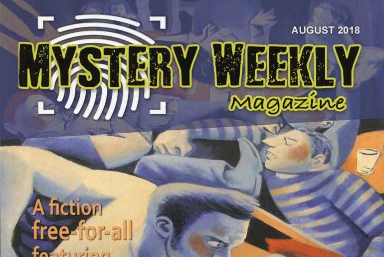 Mystery Weekly Magazine masthead