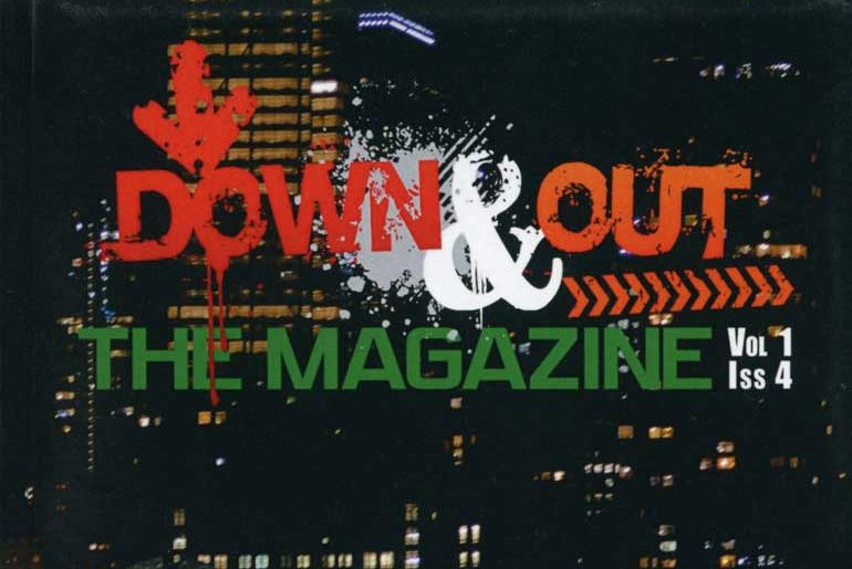 Down & Out: The Magazine masthead