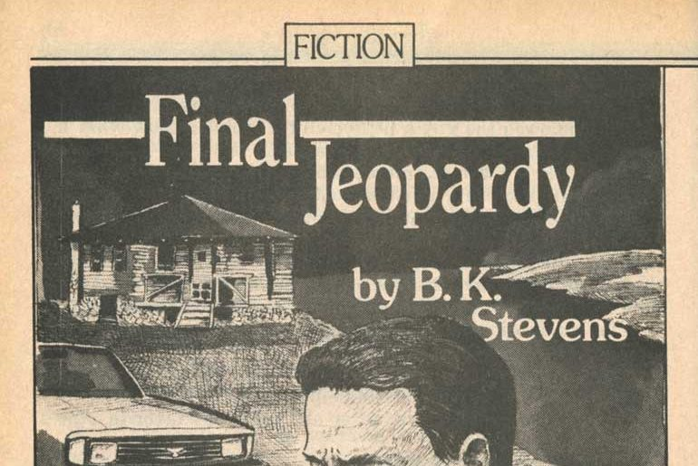 """""""Final Jeopardy"""" by B.K. Stevens"""