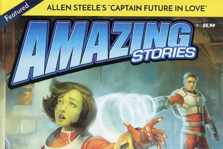 Amazing Stories Vol. 76 No. 1 masthead
