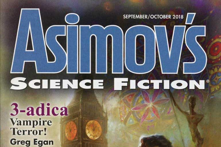 Asimov's Sep/Oct 2018 masthead