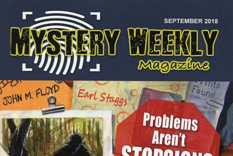 Mystery Weekly Magazine Sept.2018 masthead