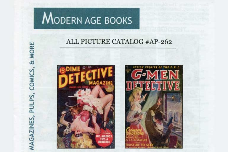 Modern Age Books All Picture Catalog AP-262