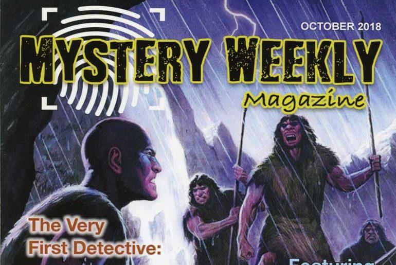Mystery Weekly Magazine October 2018 masthead