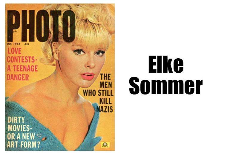 Elke Sommer on Photo