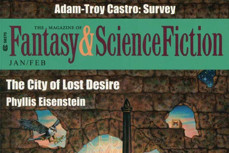 Fantasy and Science Fiction Jan/Feb 2019 masthead