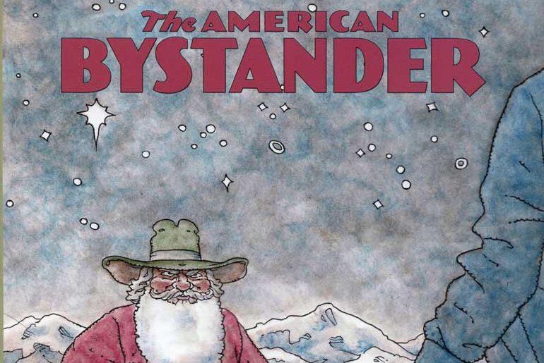 The American Bystander No. 9 masthead