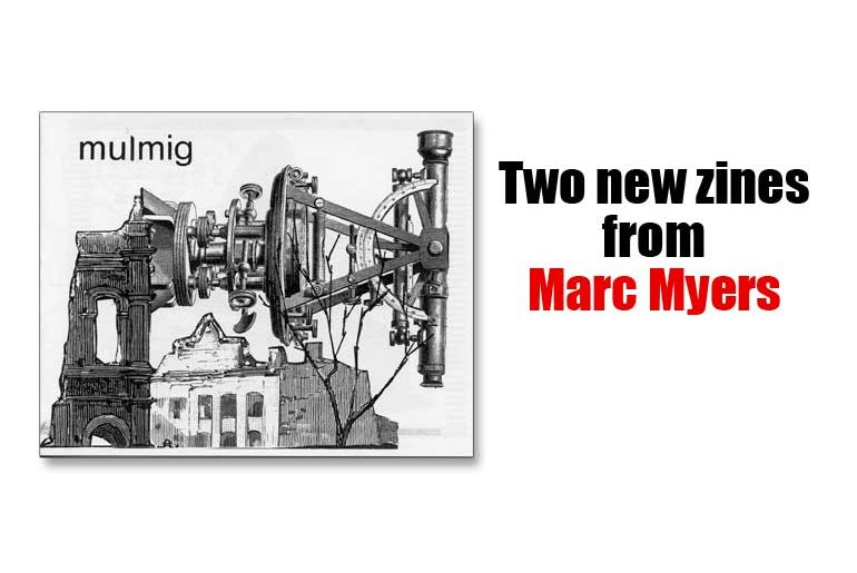 Two new zines from Marc Myers