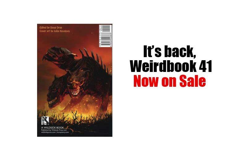 Weirdbook 41 back cover
