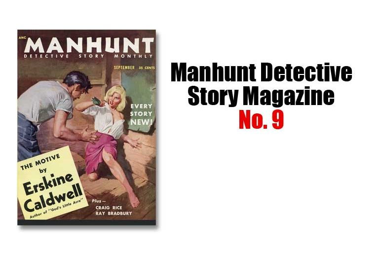 Manhunt Detective Story Magazine No. 9
