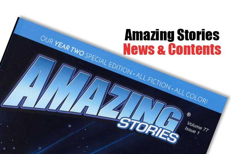 Amazing Stories News & Contents