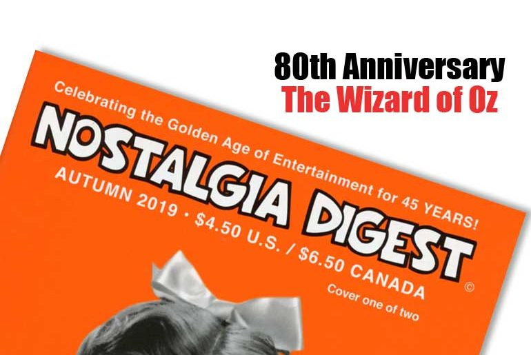 80th Anniversary The Wizard of Oz